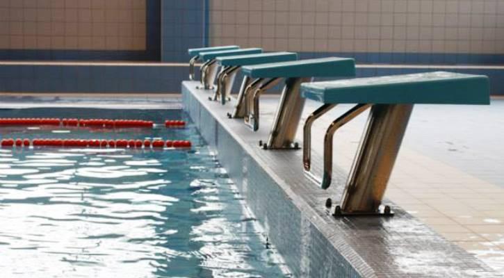Startovací bloky bazénu Jedenáctka Chodov