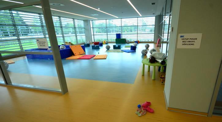 Dětský herní koutek v dětském centru Jedenáctka Chodov