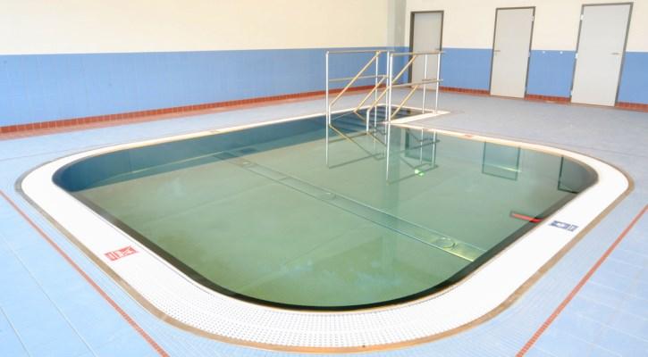 Menší bazének dětského centra v areálu Jedenáctka Chodov