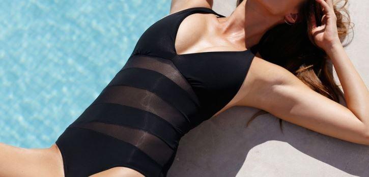 Moderní dvoudílné plavky vhodné pro každou postavu.