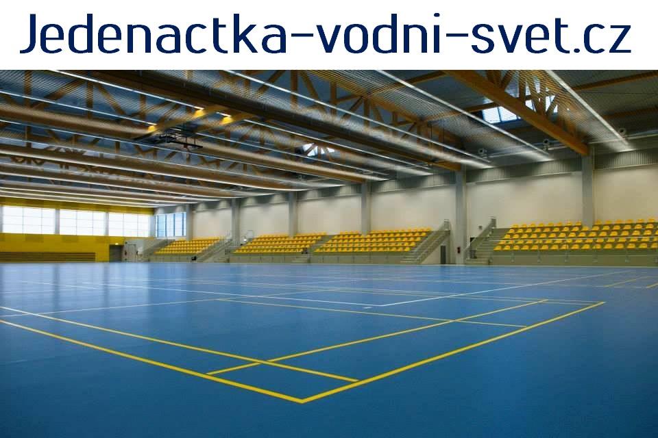 Víceúčelová sportovní plocha Jedenáctka má rozměry 60 × 30 metrů. 0b5f9d6714