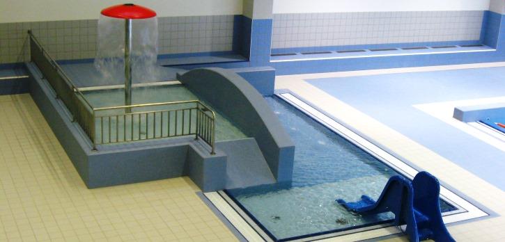 Oddělené dětské brouzdaliště ve vodním světě Jedenáctka VS.