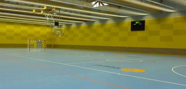 Moderní víceúčelová sportovní hala Jedenáctka Chodov