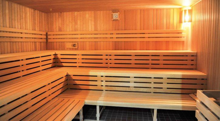 Sauna finského typu ve wellness centru Jedenáctka Chodov